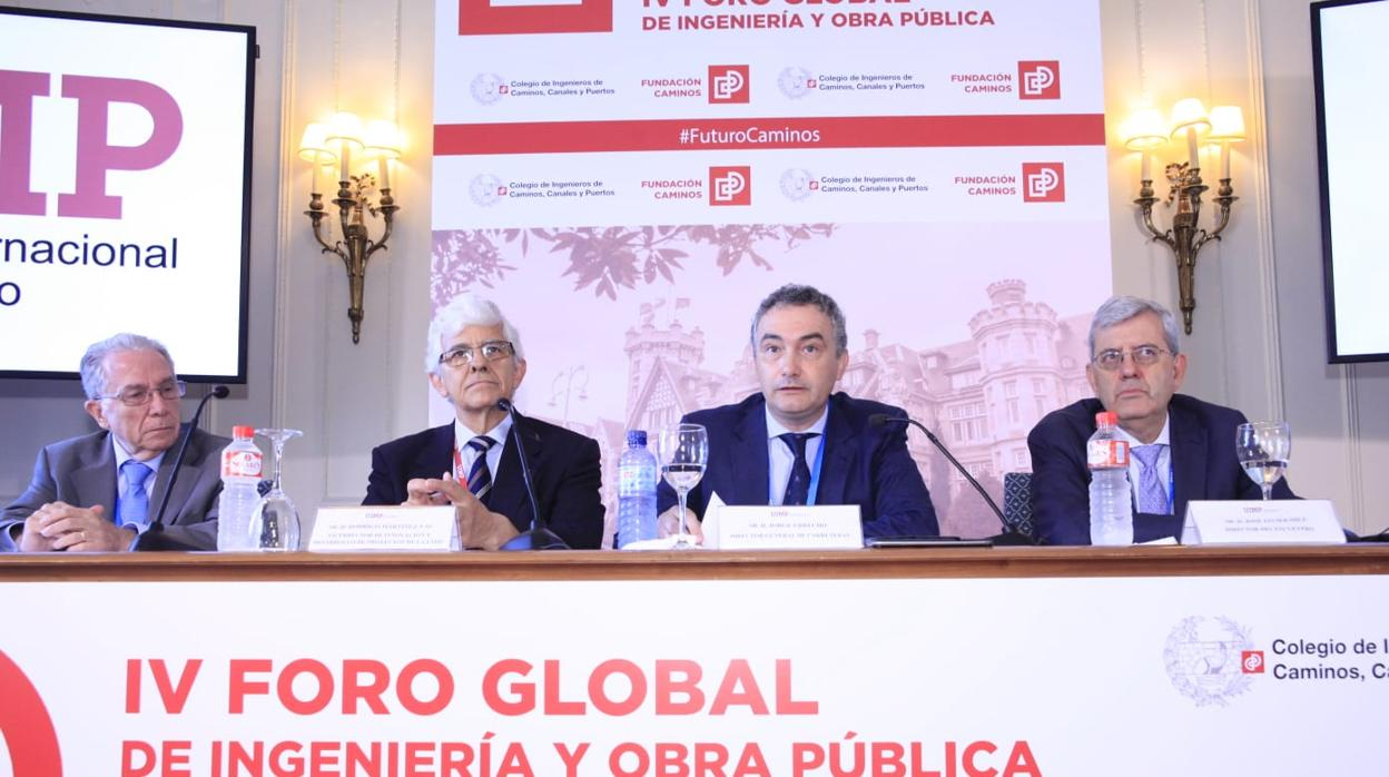 El Colegio de Ingenieros destaca el liderazgo internacional de la construcción española