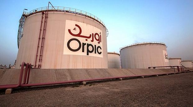 Instalaciones en Omán de Orpic, filial del grupo español CLH