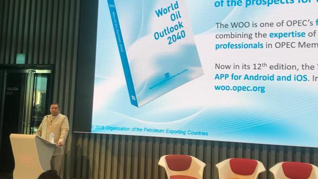 El secretario general de la OPEP, esta mañana