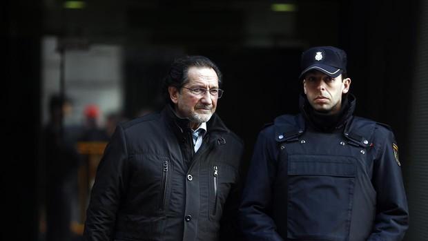 José Antonio Moral Santín, en una declaración en la Audiencia Nacional