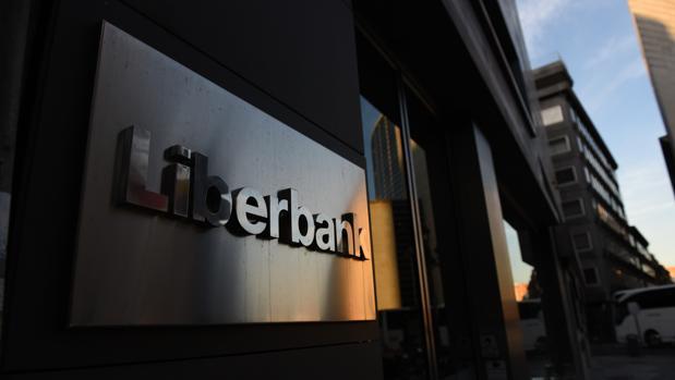 Edificio corporativo de Liberbank en Madrid
