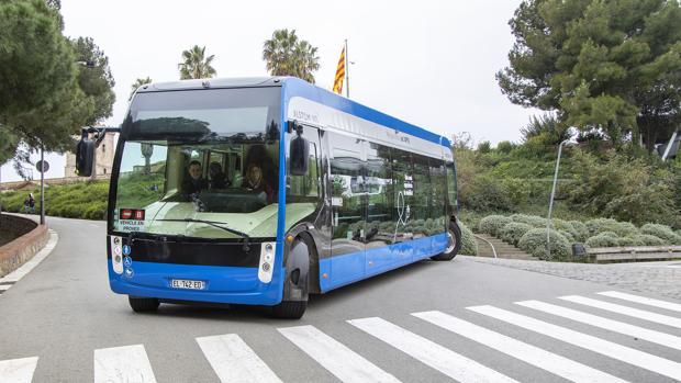 Prototipo del autobús eléctrico Aptis, de Alstom