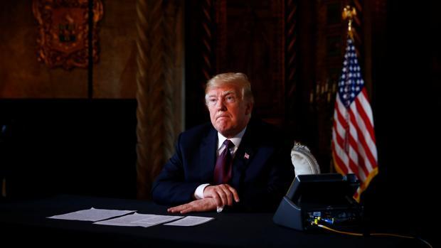 El presidente de EU.UU., Donald Trump
