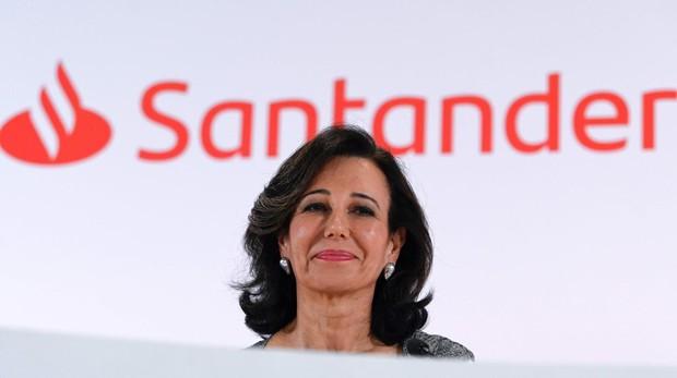 La presidenta del Banco Santander, Ana Botín. La entidad compró el Popular hace dos años por 1 euro