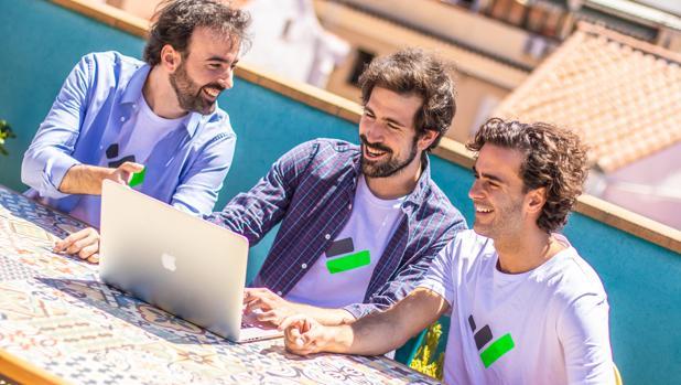 Los tres emprendedores españoles que han creado TaxDown