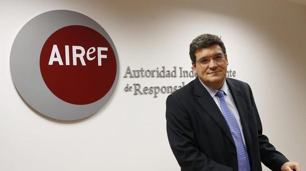 José Luis Escrivá, presidente de la Autoridad Fiscal Indpendendiente (Airef)