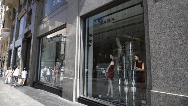 Escaparate de Zara
