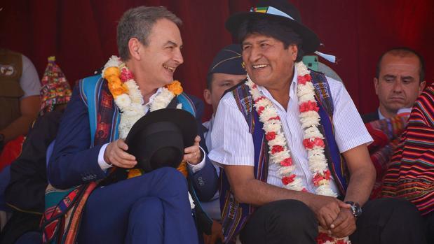 Zapateroy Morales, esta semana en Bolivia