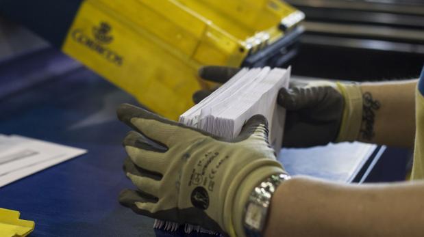 El servicio postal de Correos realizó 75 millones de envíos en el primer semestre de 2019