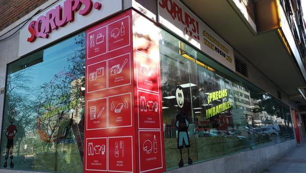 Sqrups fue el supermercado oulet pionero en nuestro país