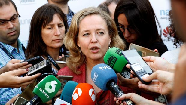Nadia Calviño, ministra de Economía y Empresas en funciones
