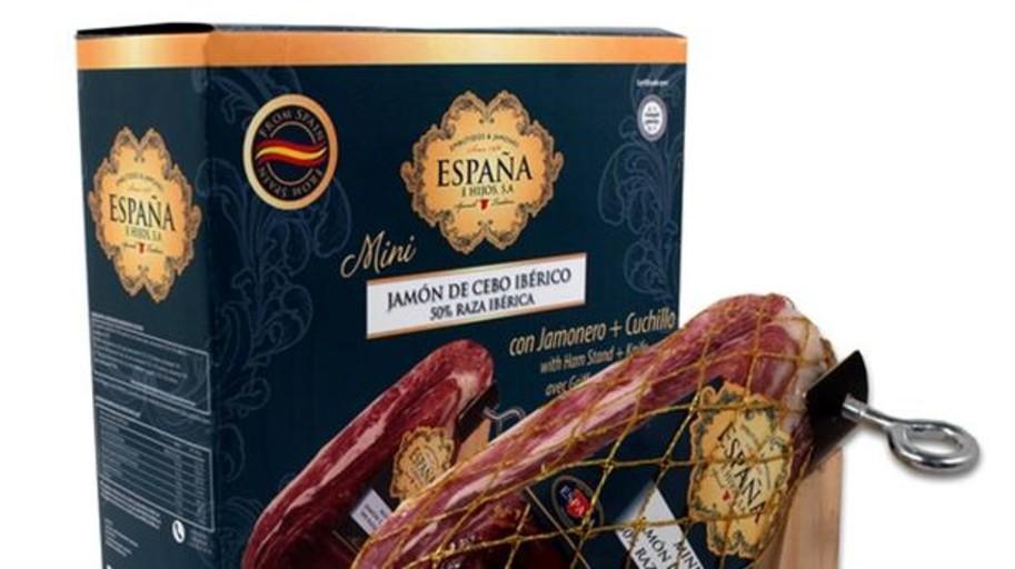 Embutidos España lanza un jamón ibérico de tamaño reducido para conquistar el mercado exterior