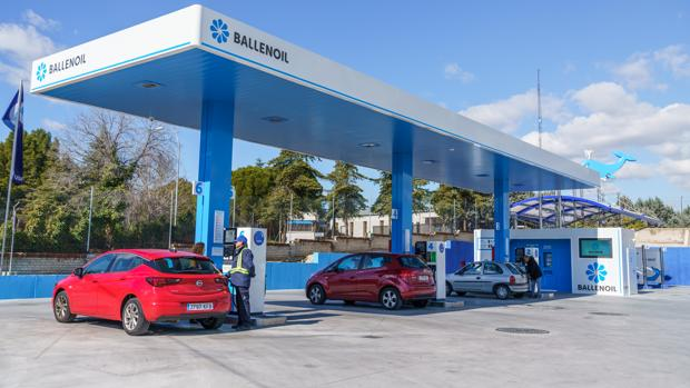 Gasolinera de Ballenoil, el principal grupo de estaciones de servicio automáticas