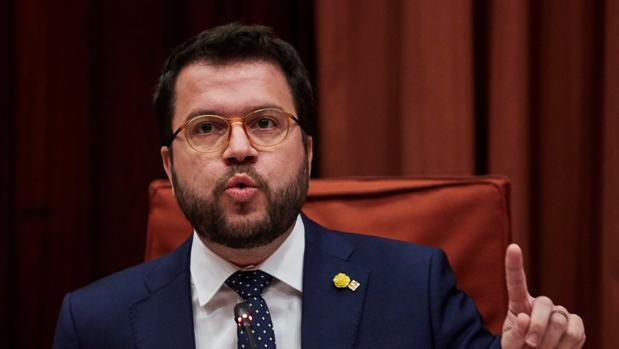 El vicepresidente del Govern y conseller de Economía y Hacienda de la Generalitat, Pere Aragonés,