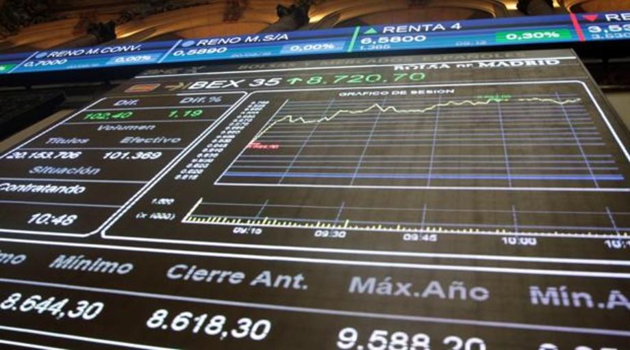 El Ibex abre a la baja pendiente de la reunión de los bancos centrales en EE.UU.