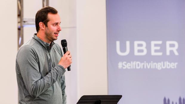 Anthony Levandowski, en 2016, durante una presentación