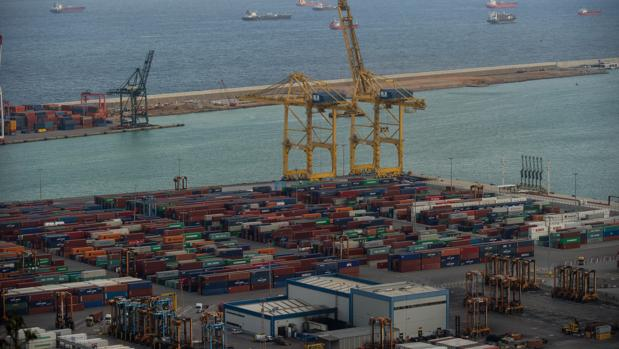 Imagen del puerto de Barcelona
