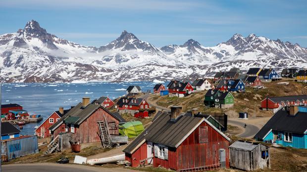 Groenlandia destaca por ser una rica fuente de recursos materiales