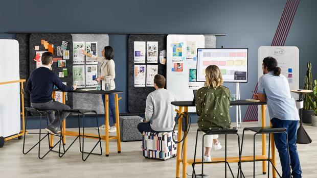 Oficina de la agencia de publicidad de Múnich Plan.Net