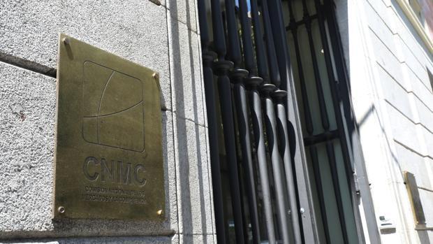 Sede de la CNMC en la esquina de las calles de Alcalá y Barquillo, en Madrid