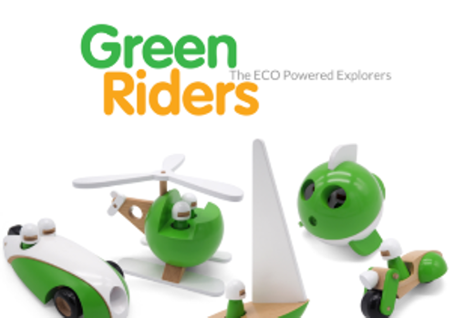 The new Green Riders collection from Wodibow