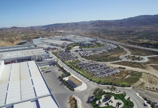 The group's industrial park in Almería, with more than 3 million km2