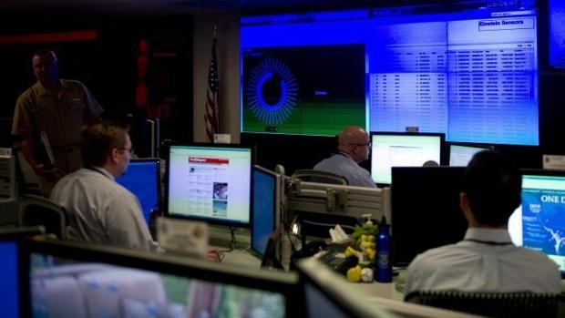 Unidad de ciberseguridad en una agencia oficial estadounidense