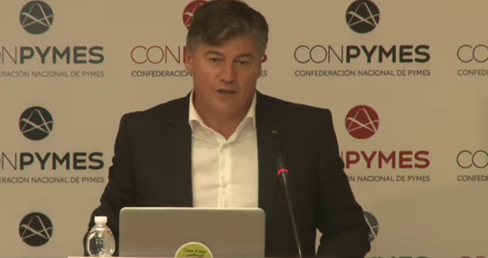 Antonio Cañete, vice president of Conpymes