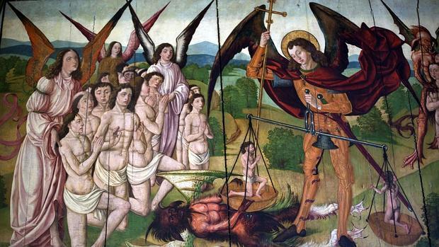 Tabla del siglo XVI de la iglesia de San Nicolás de Bari de Burgos