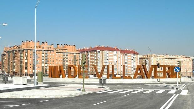 El distro de Villaverde de Madrid