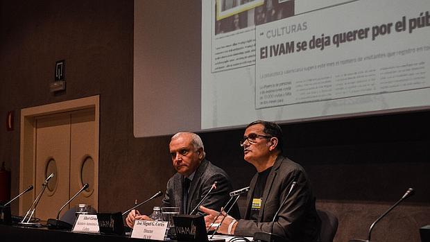 Cortés, ayer en la presentación de los datos