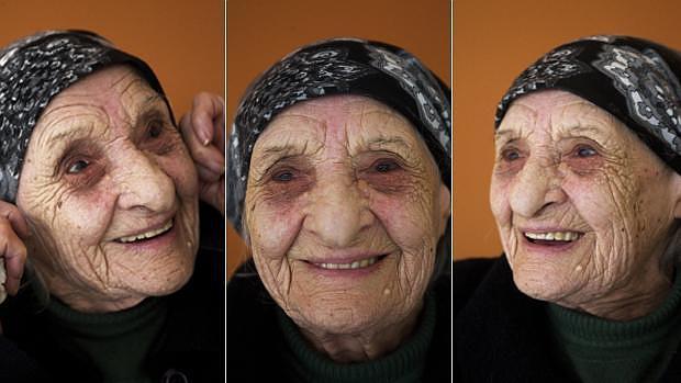 Modesta Fernández, nacida en 1915, es la más anciana de Parada de Sil