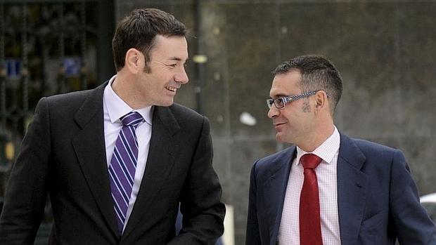 Tomás Gómez y José María Fraile
