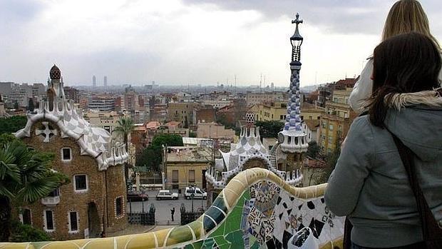 Vista de Barcelona desde el Parque Güell