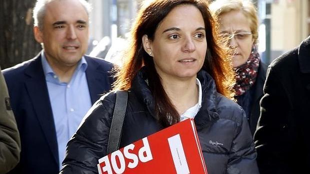 La secretaria general del PSOE-M y alcaldesa de Getafe, Sara Hernández