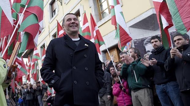 Arnaldo Otegi, este martes en Elgoibar