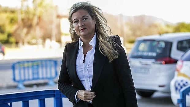 La abogada de Manos Limpias, Virginia López Negrete, no ha asistido este martes a la sesión