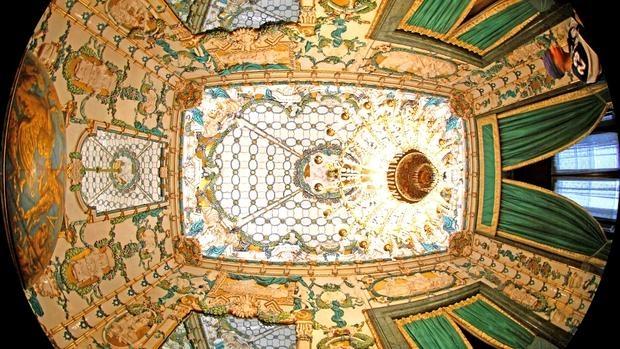 El exterior de la cúpula del Planetario de Madrid, donde se celebrarán los conciertos