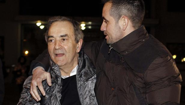 Raúl López, dueño de Monbús, al quedar en libertad en marzo de 2015