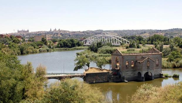 Imagen del río Tajo a su paso por La Peraleda, en Toledo
