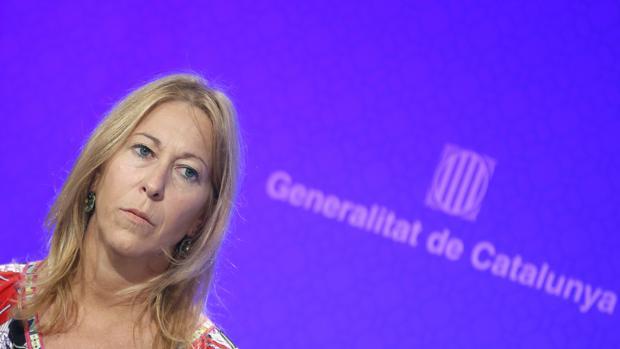 La portavoz del Gobierno catalán, Neus Munté