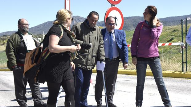 Julián Muñoz en una salida de la cárcel el pasado mes de abril