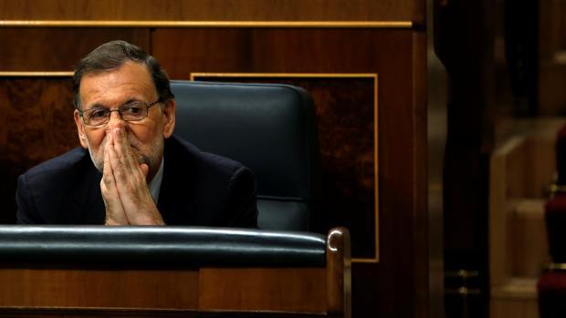 Mariano Rajoy, ayer en el Congreso
