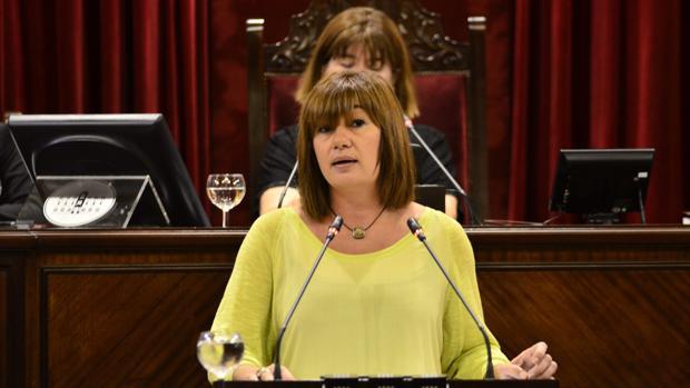 Francina Armengol, presidenta de Baleares, comparte gobierno con MÉS y Podemos