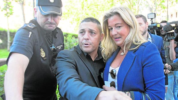Negrete acudió a declarar a la Audiencia Nacional con un escolta