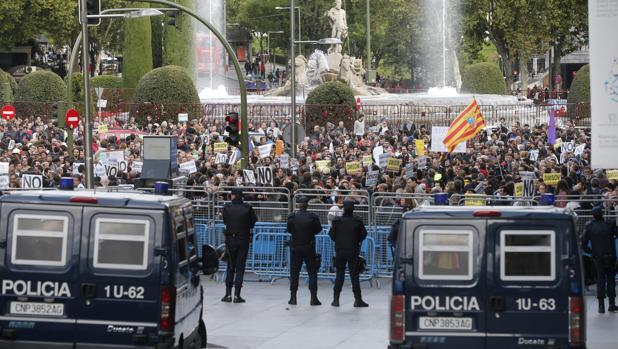 Imagen de la concentración que se llevó a cabo en 2012