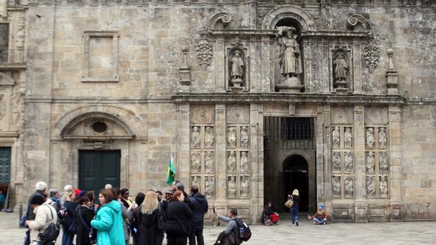 La Puerta Santa de la Catedral de Santiago ha estado abierta de manera excepcional este 2016