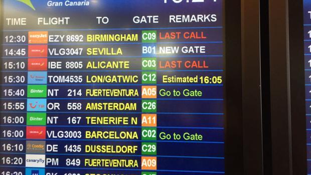 Un 30% han bajando las aerolíneas de media el coste de vuelos para ir a Gran Canaria