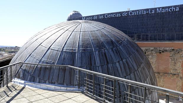 La cúpula de diez metros del Museo de las Ciencias