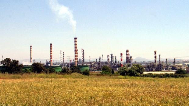Imagen del complejo químico de Tarragona, con amplia presencia de firmas alemanas